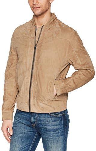 Robert Graham Men's Ramos Suede Bomber Jacket