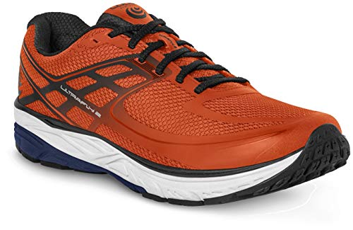 Topo Athletic Herren M-Ultrafly 2 Laufschuhe, Herren, Topo Athletic, Orange/Marineblau, 13 D (M)
