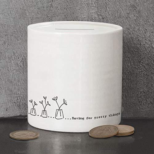 East of India: Hucha de porcelana en caja – Ahorro para cosas bonitas