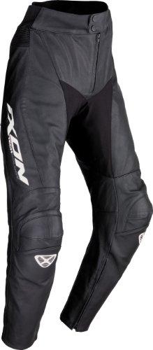 IXON FUELLER Lederhose schwarz/weiss 3XL