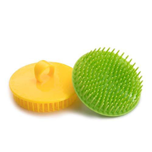 Hair Scalp Brush Dandruff Cleaning Brush Shower Scalp...
