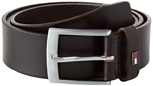 Tommy Hilfiger Adan Leather 3.5 Cintura, Testa di Moro, 80 Uomo