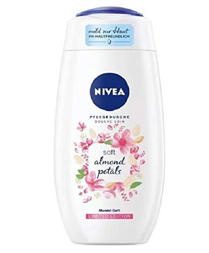 Nivea Duschgel - Soft Almond Petals - 6er Pack (6 x 250ml)