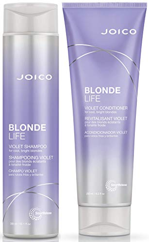 Joico Blonde Life Violet Shampoo & Conditioner Set, 10.1 Fl Oz