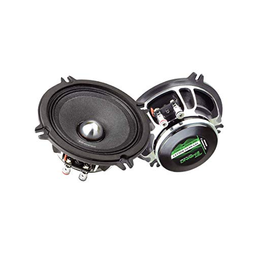 "Timpano TPT-NEO5 Bullet 5.25"" Midrange Speakers Pair - Pro Audio 5.25 Inches Loudspeaker, 4 Ohms, 100 Watts RMS, 200 Watts Continuous Power Mid-Range Speaker (Pair)"