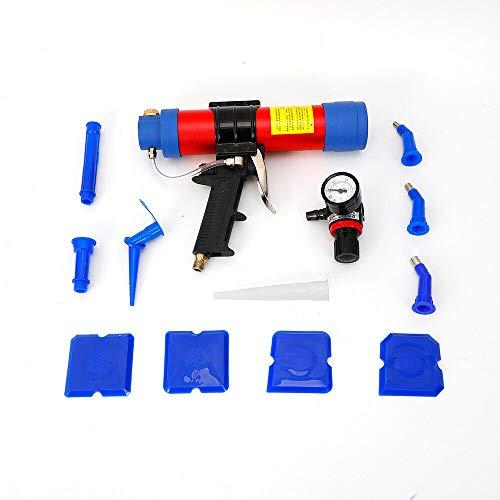 310ml Druckluft Kartuschenpresse Silikonpistole Kartuschenpistole Silikonspritze für Glas Montieren, Abdichtung
