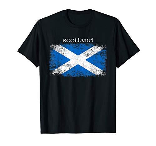 Scotland Flagge   Alba Caledonia Schottland Trikot T-Shirt