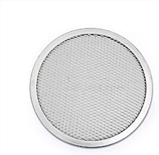 New Star Foodservice 50691 Seamless Aluminum Pizza Screen, Commercial Grade, 16-Inch