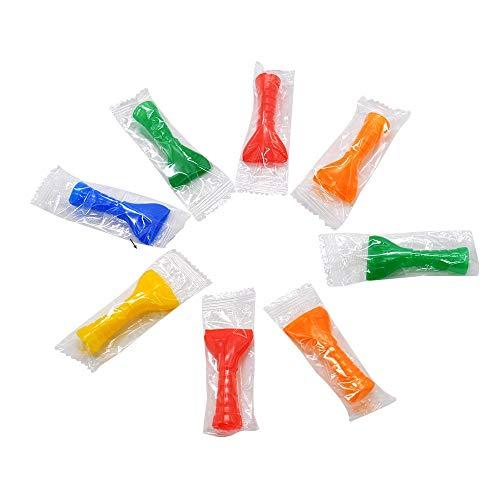 DENGHUI-SY, 50 Piezas Boquilla desechable de plástico de Grado alimenticio for Shisha Hookah Chicha Nargile Agua Fumar Shisha Manguera Boca Consejos (Color : 50pc Random Color)