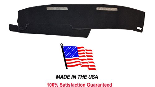 1986-1993 Chevy S-10 Pick Up Carpet Dash Cover Mat Pad CH57 USA Made (Black)