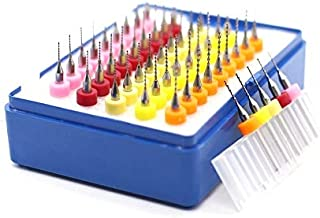 Nologo HHUI-PCBZUANTOU 10Pcs//Set 0.3mm to 1.2 M Hard Alloy PCB Print Circuit Board Carbide Micro Drill Bits Tool Size : 10Pcs//Set 0.3mm to 1.2
