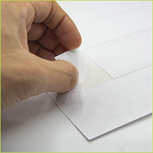 Palucart Etichette adesive carta vellum 160 gr formato a4 etichette multiuso foglio intero autoadesivo permanente per stampanti 40 etichette per foglio (4000)