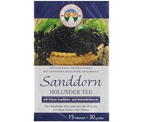 avita Holunder Sanddorn Tee (15 Teebeutel)