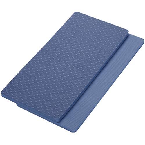 LUOEM 2 Stück Fitness Yoga Knieschoner Yoga Und Trainingsmatte Kissen für Bodentraining Training Knie Handgelenke Und Ellbogen Pilates