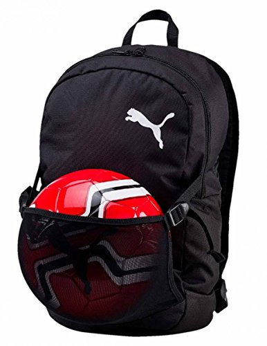PUMA Pro Training II Backpack with Ball Net Rucksack, Black, UA