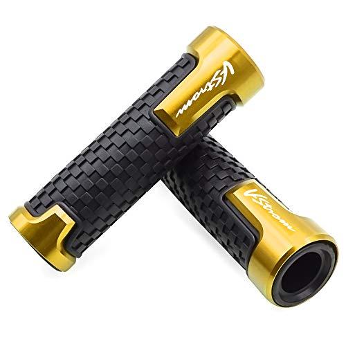 22mm 7/8'' Motorrad Lenkergriffe Griff Griffgummis Für Suzuki V-Strom V Strom 250 650 1000 1050 XT DL650 DL1000 Gold
