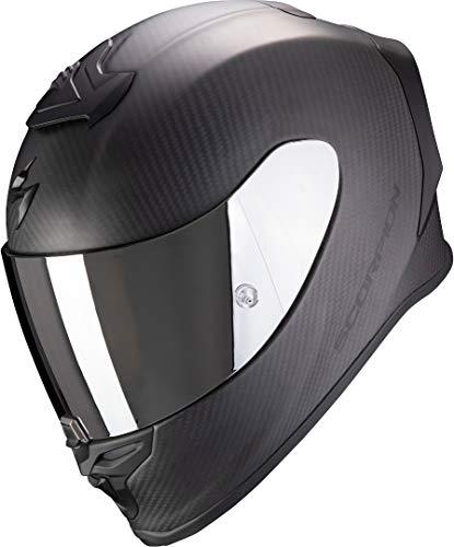 Scorpion Herren NC Motorrad Helm, Schwarz, M