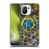 Head Case Designs Meta Brasileño Fútbol Instantáneas Carcasa de Gel de Silicona Compatible con Xiaomi Mi 11