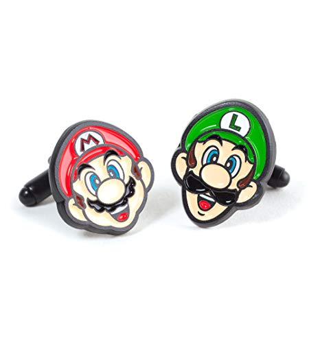 Difuzed Super Mario Brothers Cufflinks from