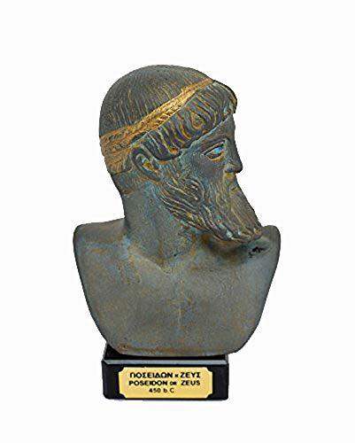 Zeus Poseidon antiguo dios griego escultura estatua
