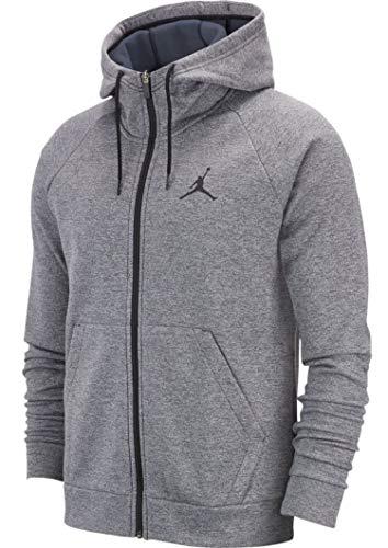 Nike Jordan 23 Alpha Therma Sweatshirt für Herren XS Carbon Heather/schwarz