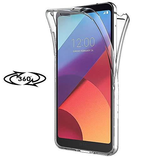 Handy Schutz-Hülle für LG G5 | Klar Full Cover Silikon TPU Case