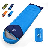 oaskys Camping Sleeping Bag - All Season Warm & Cold Weather - Summer, Spring, Fall, Winter,...