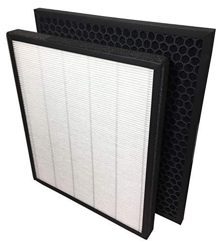 Comedes Ersatzfilterset kompatibel mit Levoit LV-PUR131 & LV-PUR131S Luftreiniger | HEPA und Aktivkohle-Filter | einsetzbar statt Filterset LV-PUR131-RF