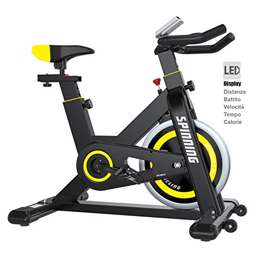 BICI DA SPINNING BIKE SPINBIKE CARDIO BICICLETTA CYCLETTE FITNESS PALESTRA WORKOUT