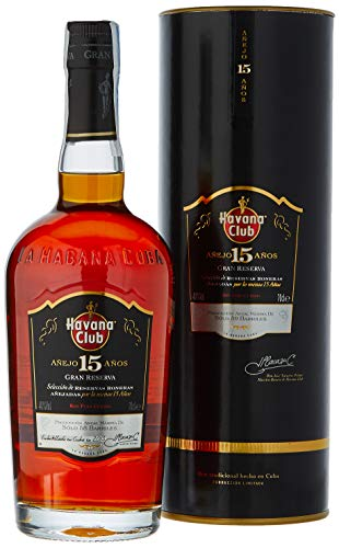 Havana Club 15 Year Old Gran Reserva Anejo Rum in Gift Box - 700 ml