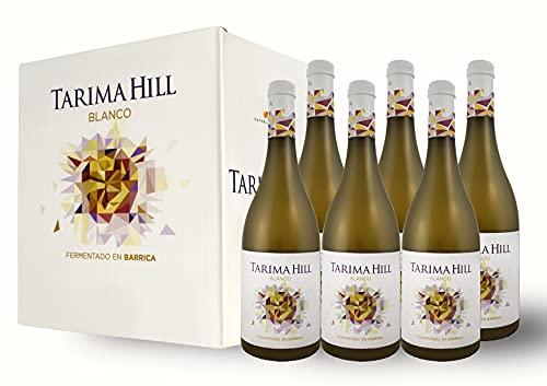 BODEGAS Y VIÑEDOS VOLVER | Vino Blanco Tarima Hill | Pack de 6 Botellas | Variedades Chardonnay y Merseguera | Vino de Alicante | Cosecha de 2020 | (6 Botellas x 750 ml) |