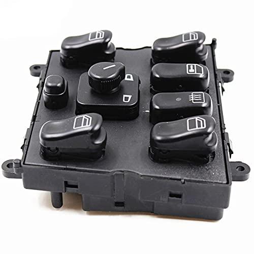 Qivor para Mercedes Benz W163 ML270 ML320 ML430 ML55AMG Nuevo Interruptor de la Ventana eléctrica Interruptor de Control de la Ventana eléctrica 1638200910 1638206610