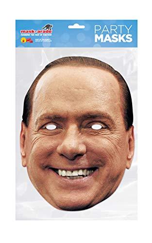 Generique - Masque Carton Silvio Berlusconi