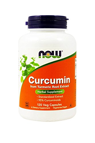 Now Foods, (2 Pack) Curcumin, 120 Veg Capsules