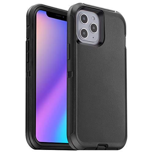 AICase Compatible with iPhone 12 Pro Max Case (2020) 6.7-Inch, Drop Protection Rugged Heavy Duty Case, Shockproof/Drop/Dust Proof 3-Layer Protective Tough Durable Cover