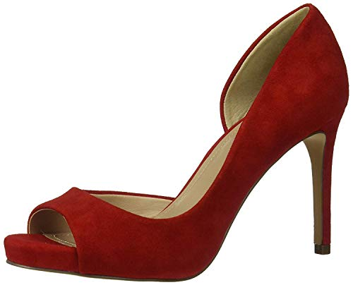 CHARLES BY CHARLES DAVID Women's Chess Pump Candy Red 8 M US