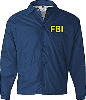 FBI Jacket Government Agent Secret Service Police Burt Macklin Costume CIA Jacket Navy
