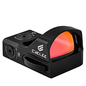 Cyelee Red Dot Sight for Pistol Micro 3.5 MOA Reflex Sight Fit 1.9In Vortex Venom/Burris Fast 3 Mount Plate Picatinny