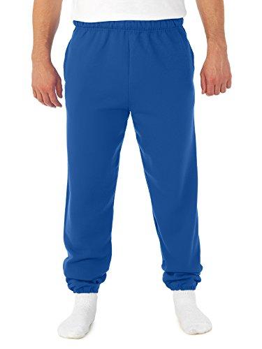 Jerzees Super Sweats NuBlend Fleece Pocketed Sweatpant, Large, Royal