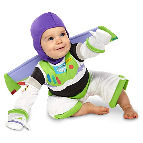 Disney Buzz Lightyear Costume for Baby - Toy Story Size 6-12 MO Multi