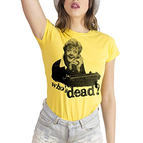 MUSH Eighteen Clothing T-Shirt S Donna Signora Fletcher Telefono. Who IS Dead by