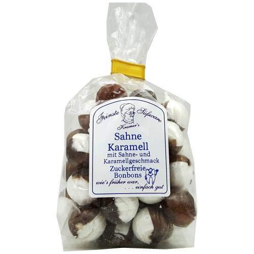 Zuckerfreie Sahne-Karamell Bonbons, 120g