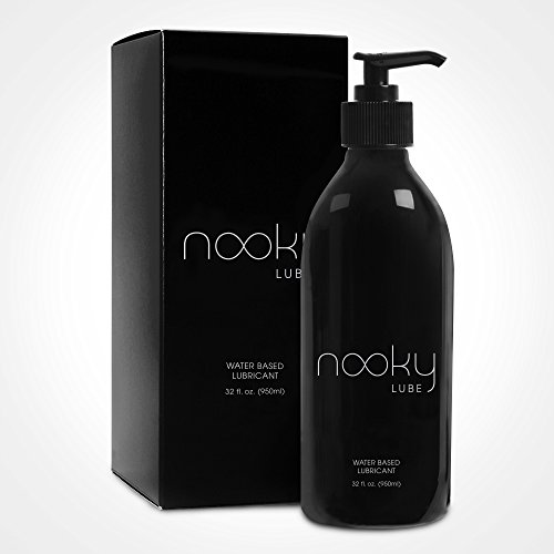 Personal Lubricant. Nooky Lube Natural Water Based Lubes for Men and...