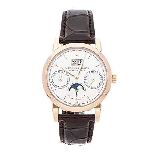 A. Lange & Sohne Saxonia Mechanical (Automatic) Silver Dial Mens Watch 330.032E (Certified Pre-Owned)