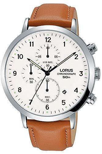 Lorus Reloj Cronógrafo para Hombre de Cuarzo con Correa en Cuero RM319EX9