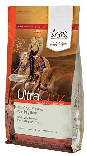 UltraCruz sc-395037 Equine Pure Psyllium Supplement for Horses, 10 lb (45 Day Supply)