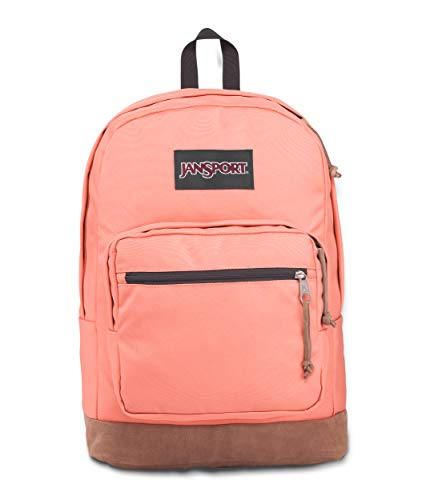 JanSport Right Pack 15 Inch Laptop Backpack - Any Occasion Daypack, Crabapple