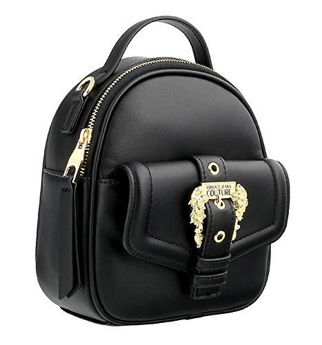 Versace Zaino Jeans Couture piccolo E1VVBBF5 71408 899 nero