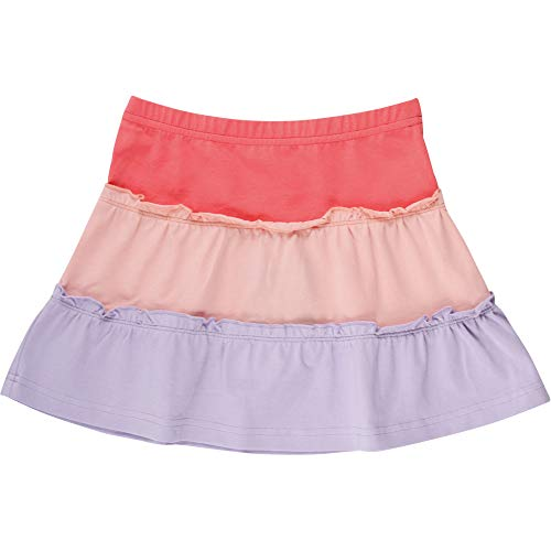 Fred'S World By Green Cotton Alfa Layer Skirt Jupe, Multicolore (Coral 016164001), 86 Bébé Fille