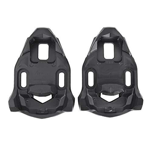 GOTOTOP - Juego de tacos para bicicleta compatibles con Time I-Clic para X-Presso para hombre y mujer (2 unidades), color negro